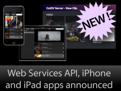 Web Services API, iPad and iPhone apps