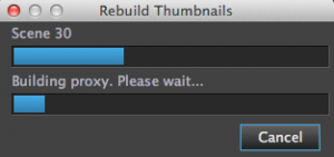 rebuild thumbnails