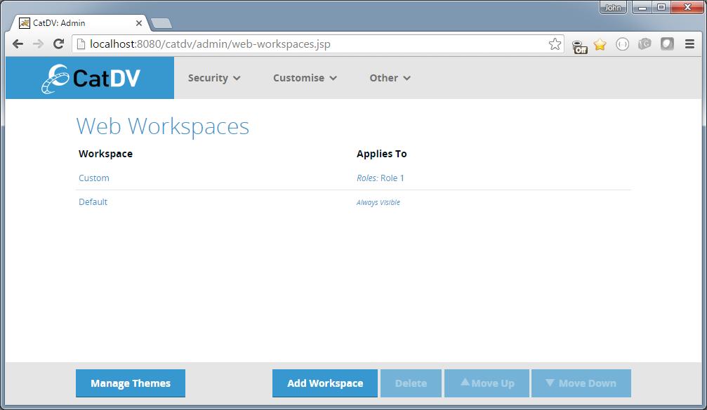 workspace-list