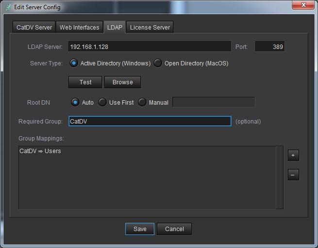ServerConfig-LDAP