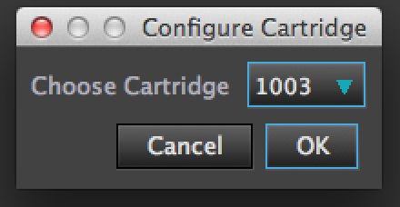 cofigure cartridge 1